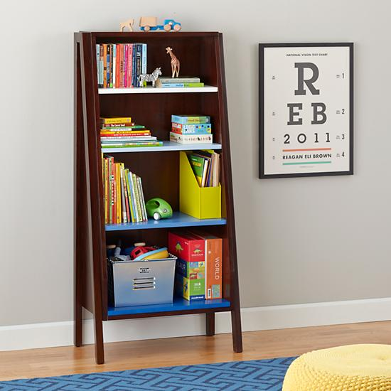 graduated-tall-bookcase-coffee-w-blue-shelves